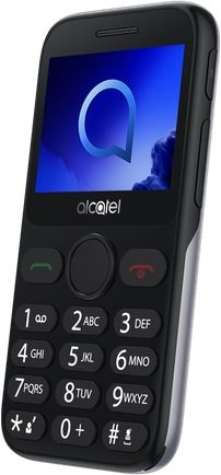 Alcatel 2019G Metallic Silver