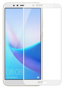 Защитное стекло CRYSTAL Huawei Honor 7A/Y5Prime 2018 White